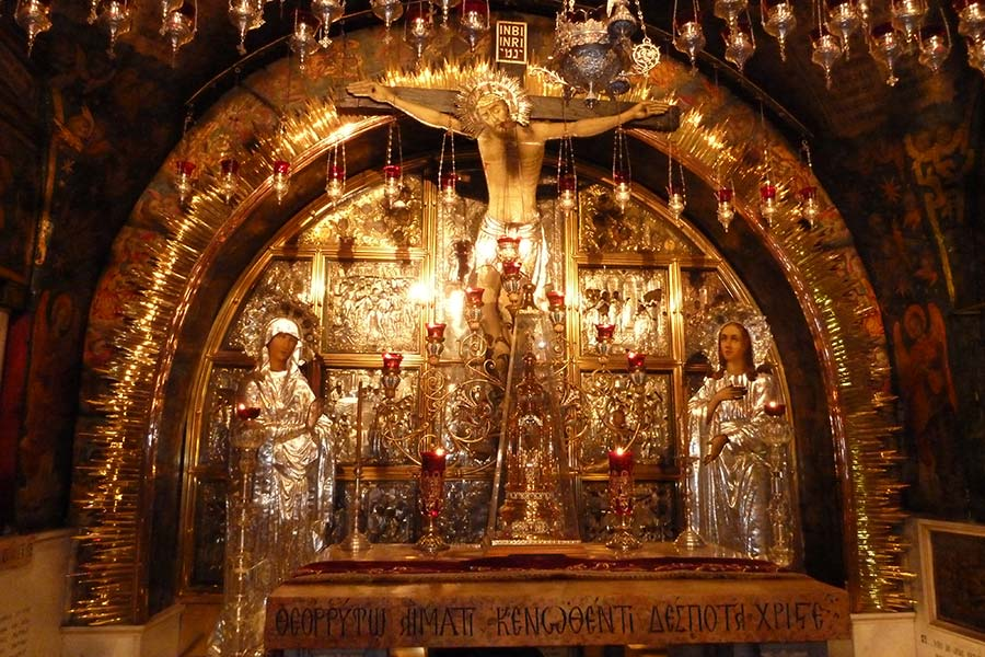 Site of the Crucifixion
