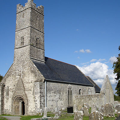 Clonfert Cathedral in Galway