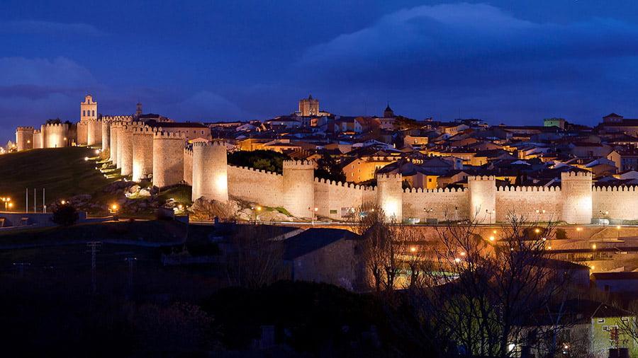 Avila walls, Spain