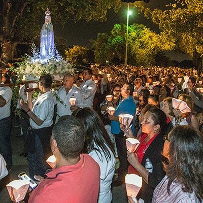 Fatima procession, Portugal