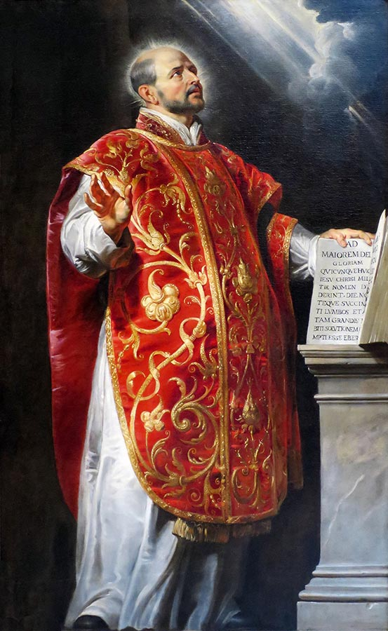 St Ignatius of Loyola, Founder of the Jesuits