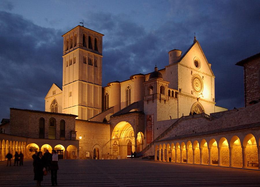 Basilica di San Francesco, Assisi, Italy