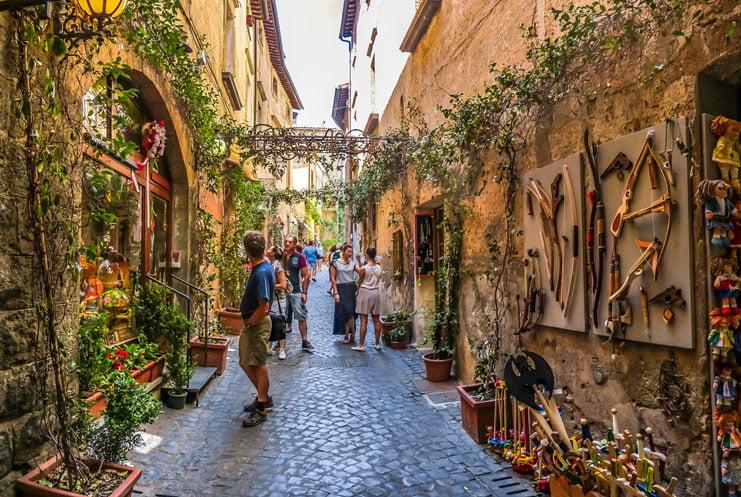 Orvieto shopping