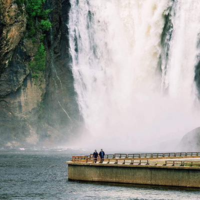 Montmorency Water Fall